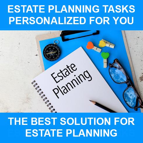 Interactive Estate Planning Task List